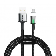 Baseus Zinc Magnetic Cable Micro USB 2.4A 1M Black