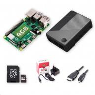 Raspberry Sada Zonepi Pi 4B/4GB, (SDXC karta 64GB + adaptér, Pi4 Model B, Cooler Master, HDMI kabel, napájecí zdroj)