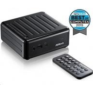 ASRock Mini PC BEEBOX Intel® Quad-Core Processor J3160-NUC (Barebone), remote controller, black