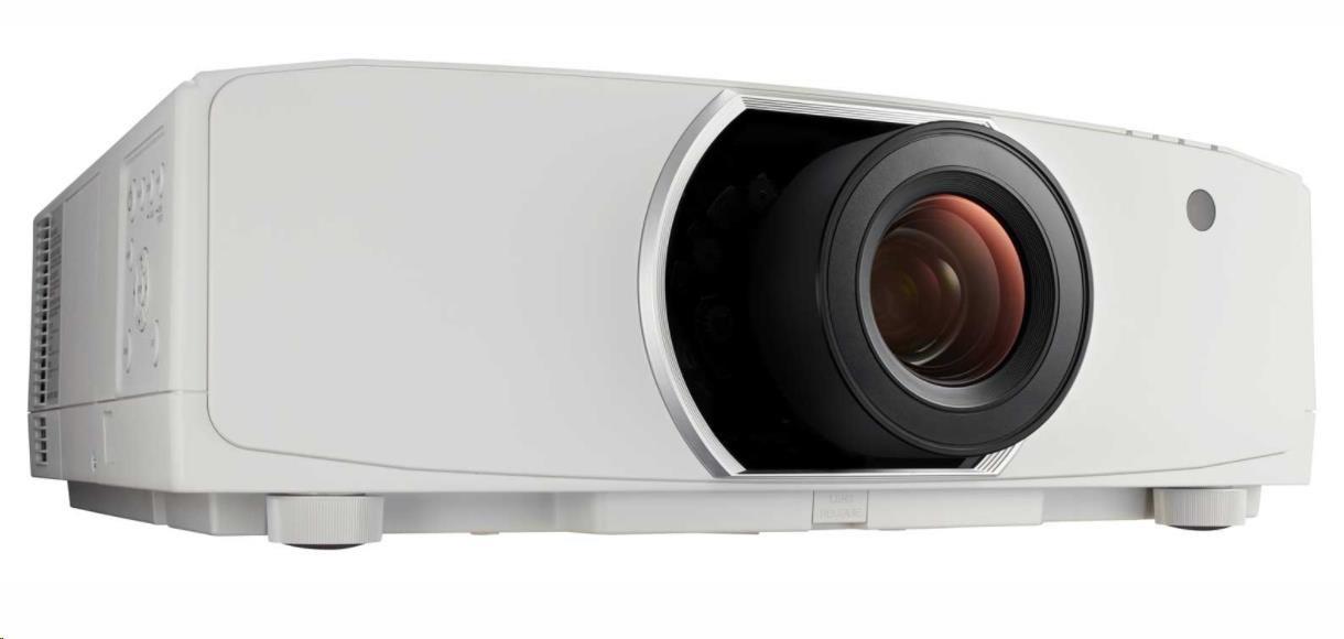 NEC Projektor LCD PA803U (1920x1200,8000ANSI,10000:1)  5 000h lamp,D-SUB,DP, HDMI,, LAN,Optional WLAN