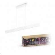 PHILIPS Ensis Svítidlo závěsné, Hue White and color ambiance, 230V, 2x39W integr.LED, Bílá