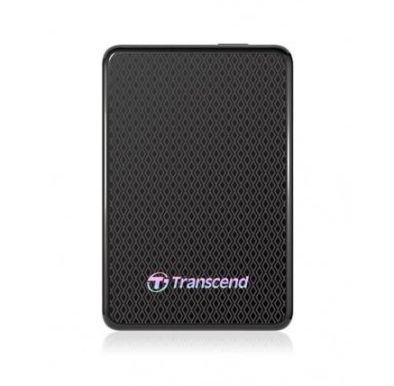 TRANSCEND externí SSD USB 3.0 ESD400, 512GB, Black