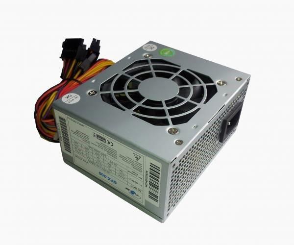 EUROCASE zdroj micro SFX-300W, 8cm fan, APFC, CE, CB, ErP2013, 80+