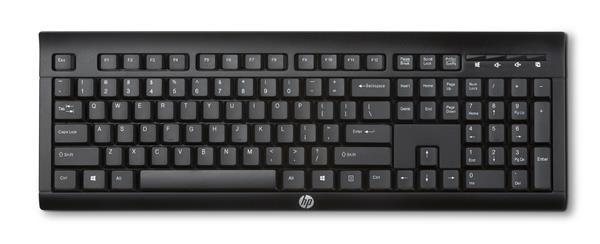 HP K2500 Wireless Keyboard - KEYBOARD - česká