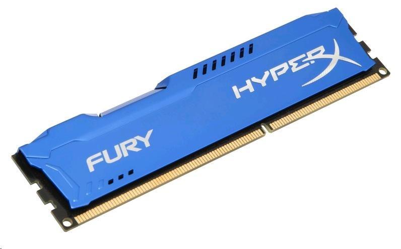 DIMM DDR3 4GB 1600MHz CL10 KINGSTON HyperX FURY Blue
