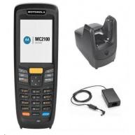 Zebra MC2180, 1D laser, USB, BT, Wi-Fi, num., kit (USB), Win CE6 Core