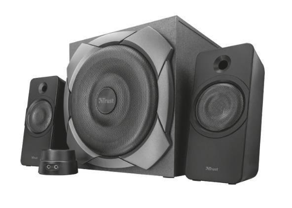 TRUST Zelos 100 Watt 2.1 Speaker Set, black