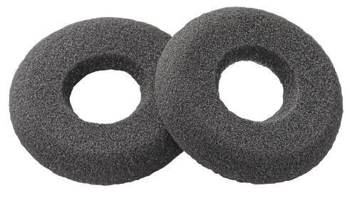 PLANTRONICS náhradní ušní koženkový polštářek pro řadu Plantronics CS300 a CS500