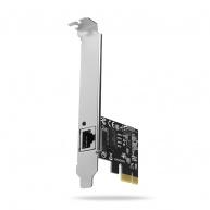 AXAGO PCEE-GRH, PCIe síťová karta - 1x Gigabit Ethernet port (RJ-45), Realtek, vč. LP