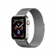 COTEetCI ocelový magnetický řemínek pro Apple Watch 42 / 44mm šedá
