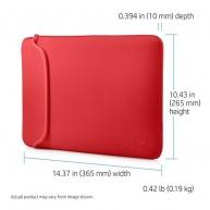 "HP 14"" Chroma Sleeve Black/Red - BAG"