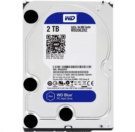 WD BLUE WD20EZRZ 2TB SATA/600 64MB cache 5400 ot.