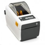 Zebra ZD410, 8 dots/mm (203 dpi), MS, RTC, EPLII, ZPLII, USB, BT (BLE, 4.1), Wi-Fi, bílá