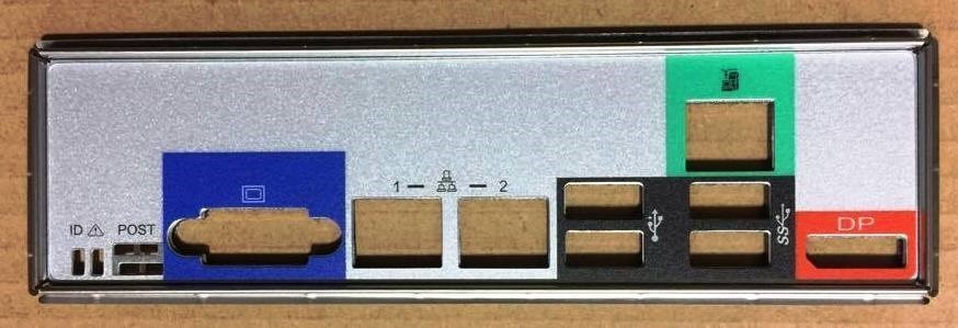 INTEL I/O Shield AS1200SPLIOS
