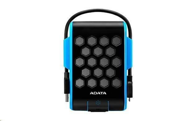"ADATA  Externí HDD 1TB 2,5"" USB 3.0, DashDrive™ Durable HD720, G-sensor, modrý, (gumový, vodě/nárazu odolný)"