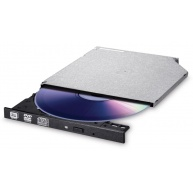 HITACHI LG - interní mechanika DVD-W/CD-RW/DVD±R/±RW/RAM/M-DISC GUE0N, Slim, 9.0 mm Tray, Black, bulk bez SW