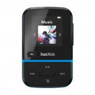 SanDisk Clip Sport Go MP3 Player 32 GB, Blue