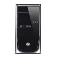 case Cooler Master minitower Elite 344, mATX,black-silver,USB3.0, bez zdroje