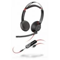 POLY náhlavní souprava BLACKWIRE C5220, 3,5 mm jack, USB-C, stereo
