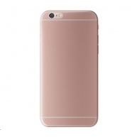 3mk ochranný kryt NaturalCase pro Apple iPhone 6 Plus, 6s Plus, transparentní růžovo-zlatá