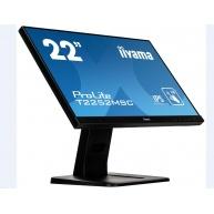 Iiyama dotykový monitor ProLite T2252MSC-B1, 54.6cm (21.5''), CAP 10-touch, Full HD, black