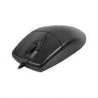A4tech OP-620D, myš, 2click, 1 kolečko, 3 tlačítka, USB, černá