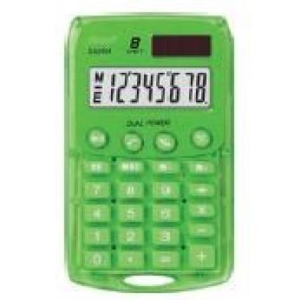 REBELL kalkulačka - StarletG BX - zelená