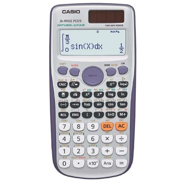 CASIO kalkulačka FX 991ES Plus, školní, dvanáctimístná