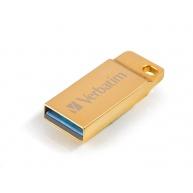 VERBATIM Flash Disk 32GB Metal Executive, USB 3.0, zlatá