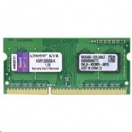 SODIMM DDR3 2GB 1333MHz CL9 SR X16 KINGSTON ValueRAM