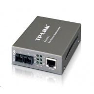 TP-Link MC110CS - Fiber media konvertor 10/100 - RJ45/SFP (mini-gbic), SC, SM, 20km