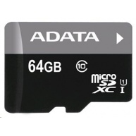 ADATA Micro SDXC karta 64GB UHS-I Class 10 + USB čtečka, Premier