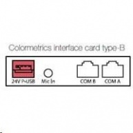 Colormetrics interface card, type-B