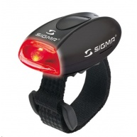 Sigma světlo na kolo MICRO černá / zadní světlo LED-červená