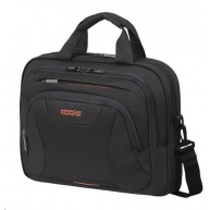 "Samsonite American Tourister AT WORK lapt. bag 15,6"" Black/orange"