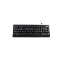 CRONO multimediální klávesnice CK2816 CZ+SK, USB+PS/2, Black