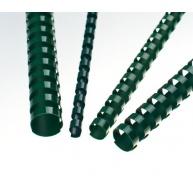 Plastové hřbety 8 zelené