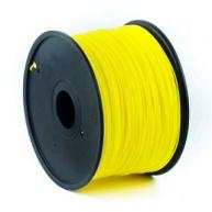 GEMBIRD Tisková struna (filament) PLA, 1,75mm, 1kg, žlutá