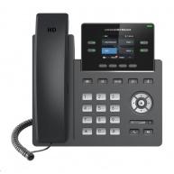 Grandstream GRP2612P [VoIP telefon - 2x SIP účet, HD audio, 16 prog.tl.+4 předvoleb, 2xLAN 100Mbps, PoE]