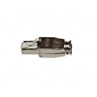 Konektor RJ45 1ks, stíněný samořezný CAT6A (kompatibilní s Belden 10GXE01.07500), 8/8, 50um zlacení