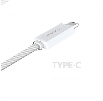 REMAX Datový kabel USB / USB C - nový model , barva bílá