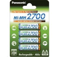 PANASONIC Nabíjecí baterie (High Capacity) BK-3HGAE/4BE  2500mAh AA 1,2V (Blistr 4ks)