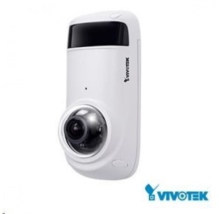 Vivotek CC8371-HV, 3Mpix, 30sn/s, obj. 1.45mm (180°), audio, Smart IR, WDR 100dB, PoE, antivandal, IP66