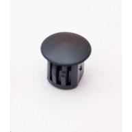OEM Záslepka plastová do optické vany ST, kulatá, černá