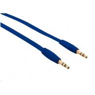 TRUST Kabel audio 3.5 jack Flat Audio Cable 1M - modrý