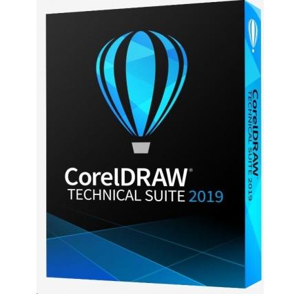 CorelDRAW Technical Suite 2019 Enterprise License (251+) - EN/DE/FR