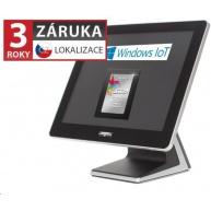 "Virtuos AerPOS PP-9635BV, 15"" LCD LED350, 4GB/120GB SSD, Win 10 IoT - bezrámečkový"