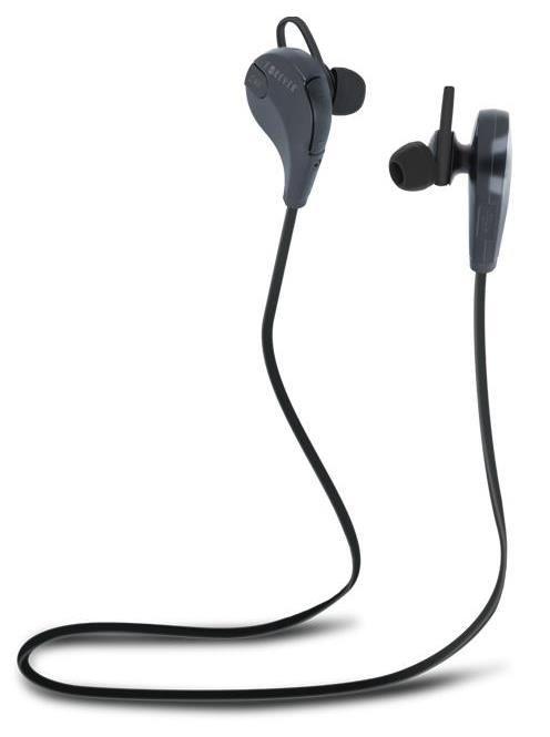 Forever bluetooth sportovní stereo sluchátka BSH-100, černá