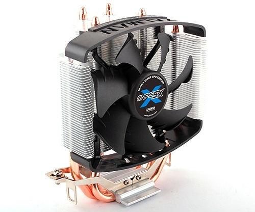 Chladič Zalman CNPS5X Performa 92mm fan PWM, 3x heatpipe