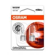 OSRAM autožárovka W5W STANDARD 12V 5W W2.1x9.5d (Blistr 2ks)